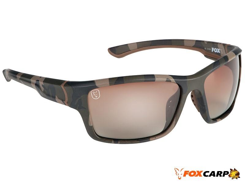 Fox® Avius® Wraps — Camo Frame/Brown Gradient Lens