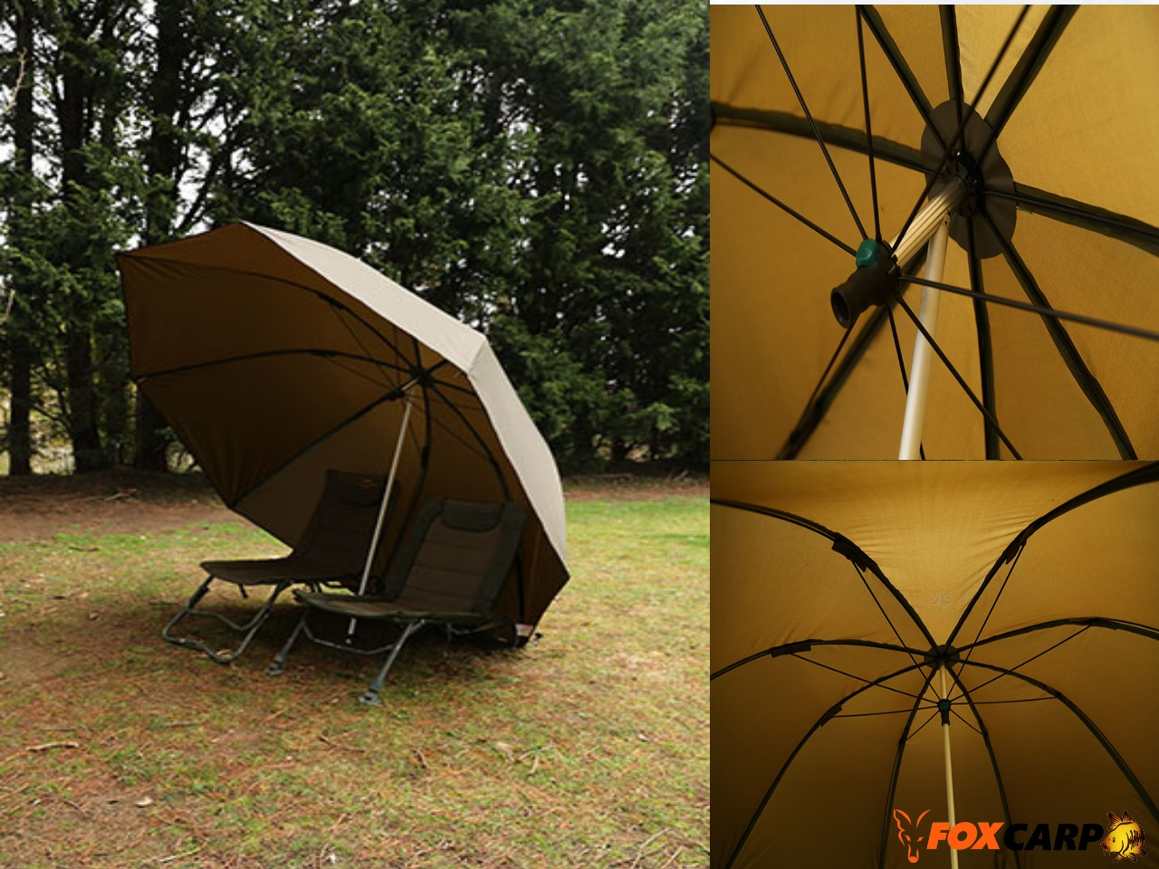 FOX Зонт Fox 60″ Brolly