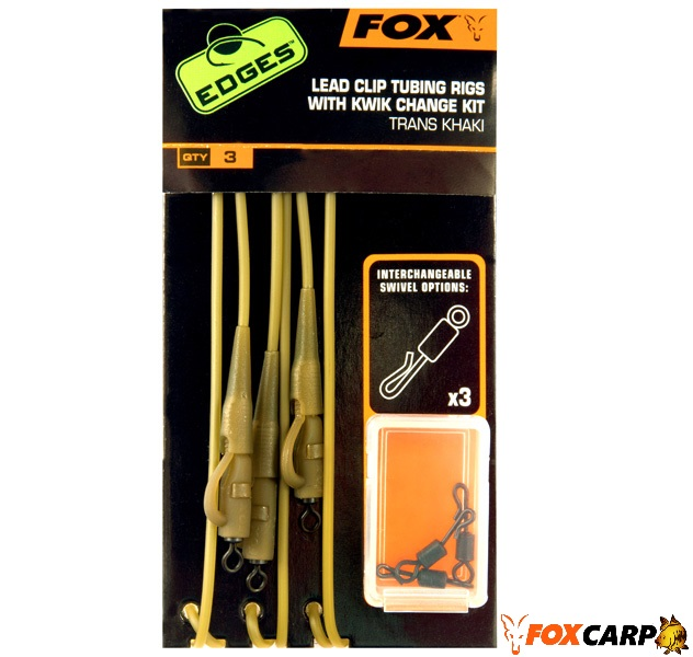 FOX EDGES™ LEAD CLIP TUBING RIG