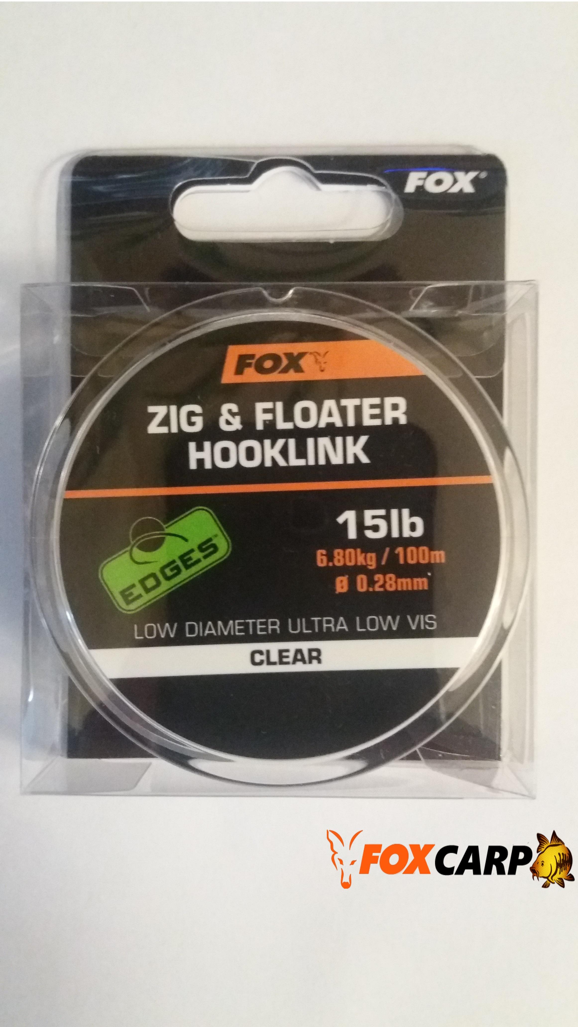 Fox Плавающий поводочный материал для Зиг-Риг Zig + Floater Hooklink