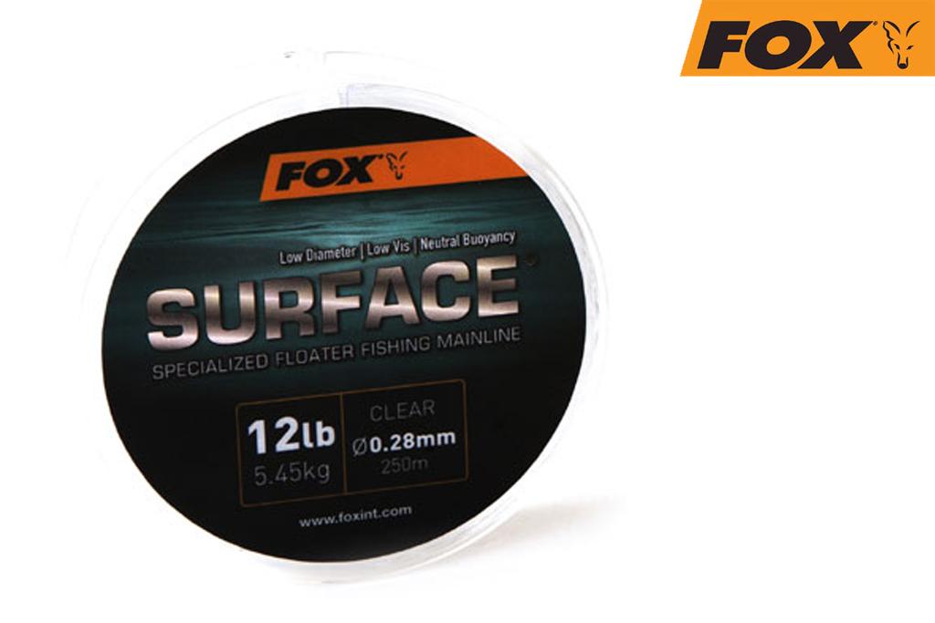 Fox Леска плавающая прозрачная — Surface Floater Mainline Clear