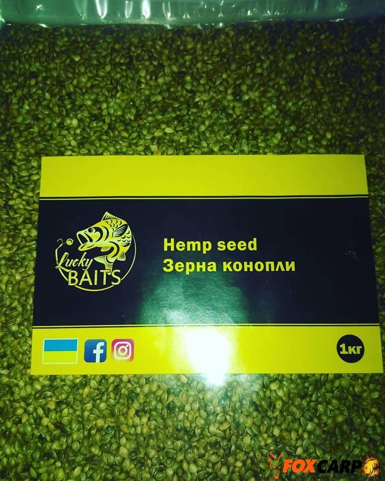 Lucky Baits hemp seed (зерна конопли)