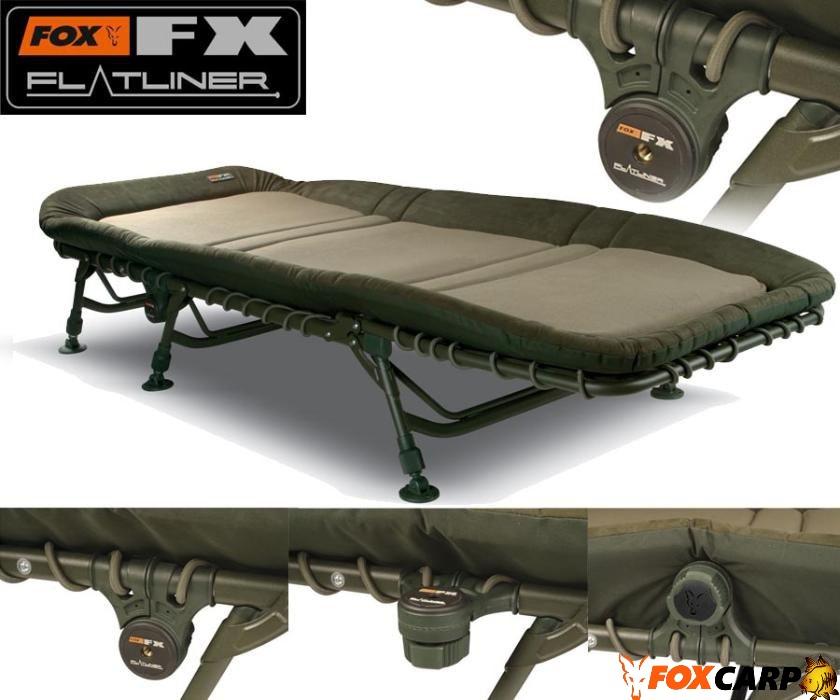 Fox Pаскладушка FX Flatliner Bedchair