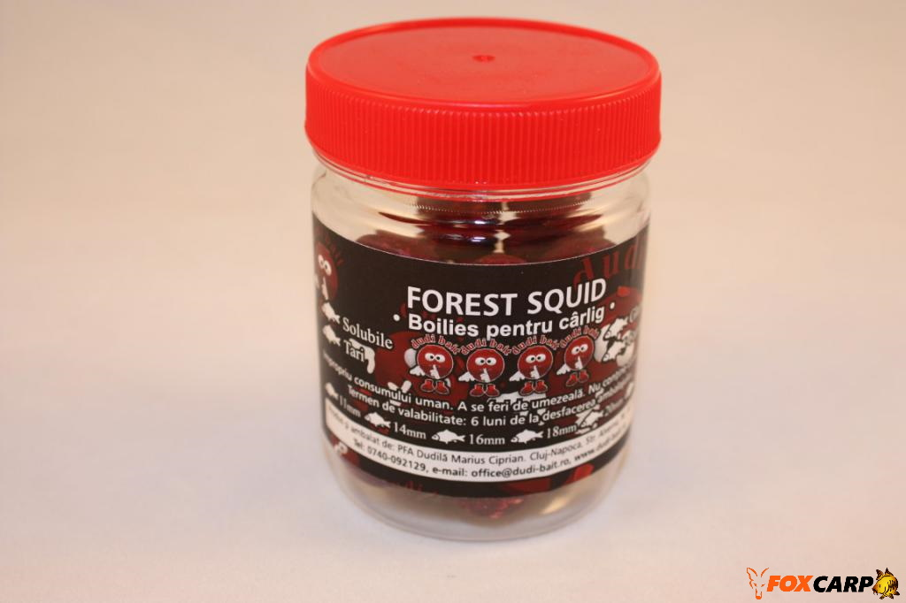 "a Hook boilies ""Forest Squid"""