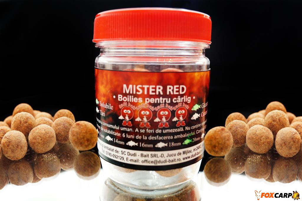 "a Hook boilies ""Mister Red"""