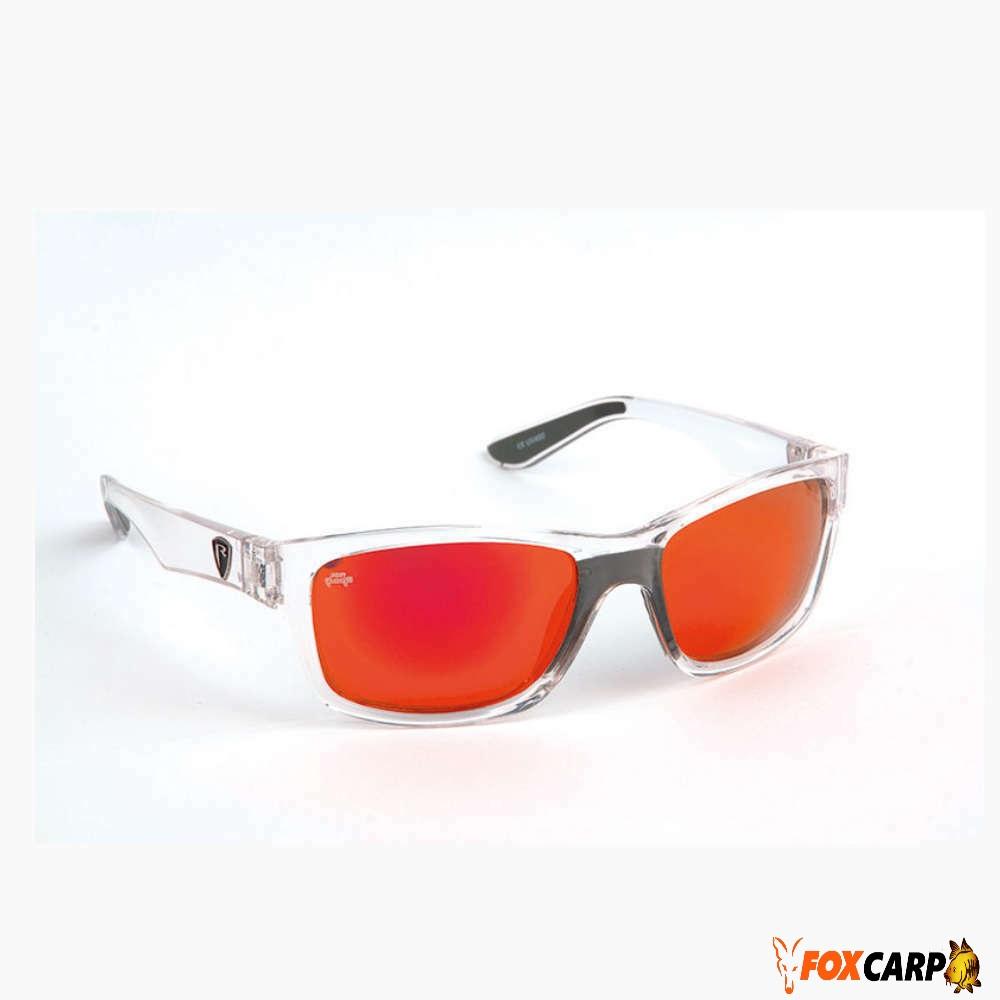 Fox поляризационные очки Rage Eyewear Trans / Mirror Red
