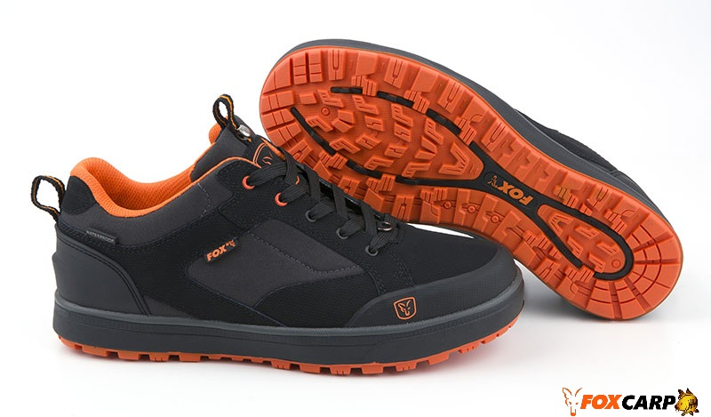 Fox Кроссовки  Black & Orange Trainers