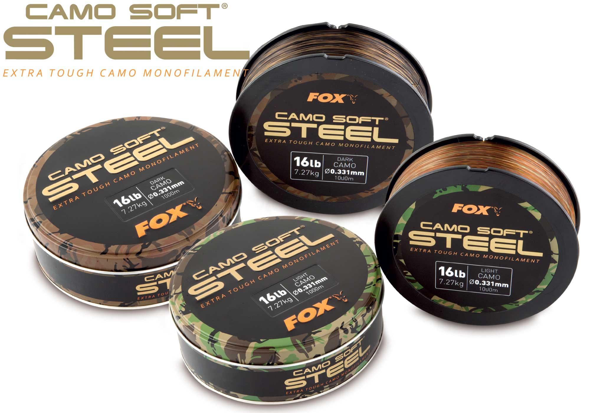 Fox Леска  Camo Soft Steel NEW