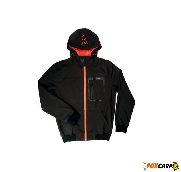 FOX Куртка Softshell Hoody Black/Orange