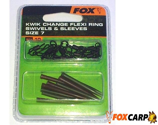 Fox Kwik Change Swivels and Sleeves