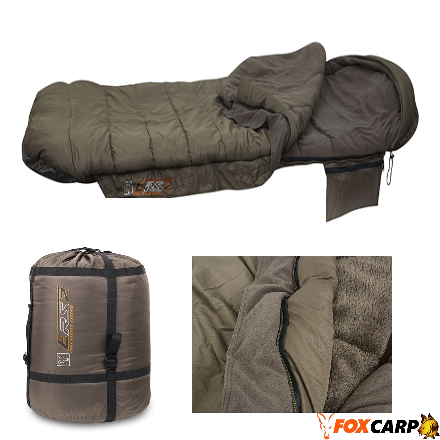 Fox Спальный мешок ERS FULL FLEECE SLEEPING BAG