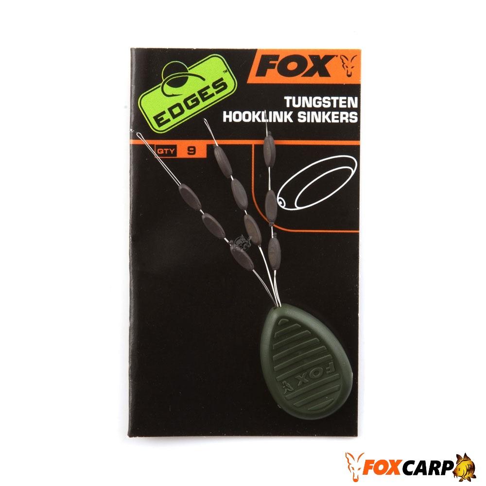 FOX EDGES™ TUNGSTEN HOOKLINK SINKERS