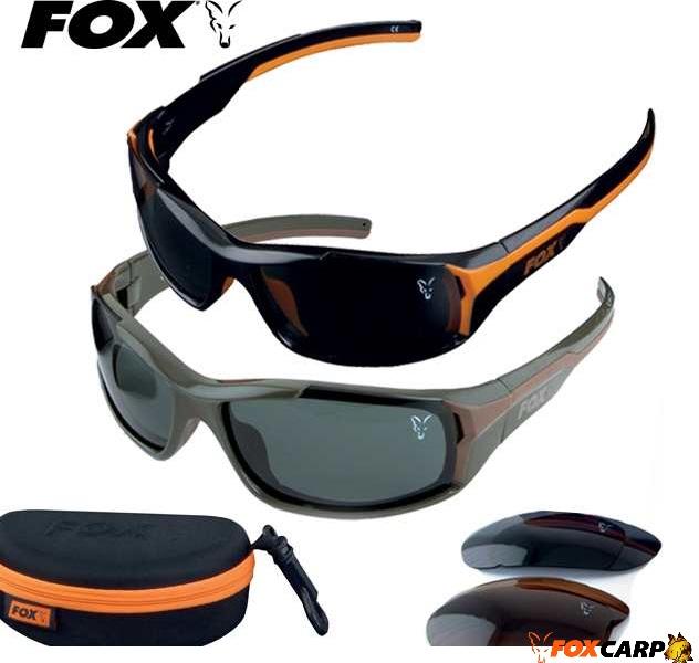Fox VARIO Очки поляризационные с тремя сменными линзами
