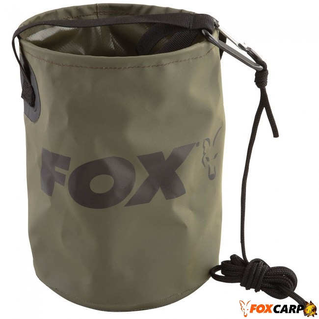 FOX Эластичное  ведро из ПВХ Collapsible Water Bucket 4.5L