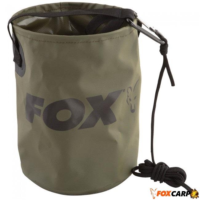 FOX Эластичное  ведро из ПВХ Collapsible Water Bucket
