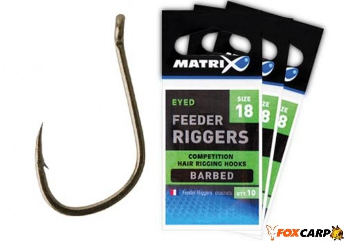 Matrix Крючки Фидерные Feeder Rigger Hooks