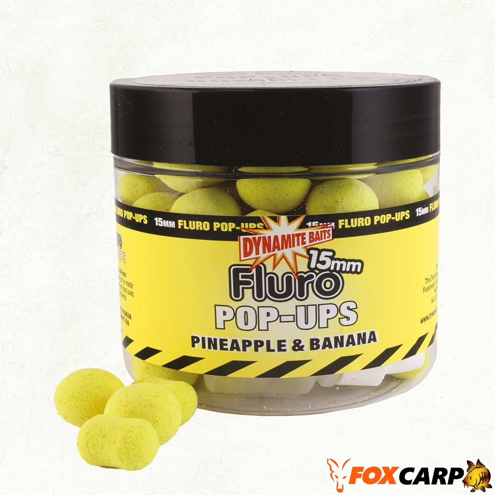 Dynamite Baits Pineapple & Banana Fluro Pop-Up