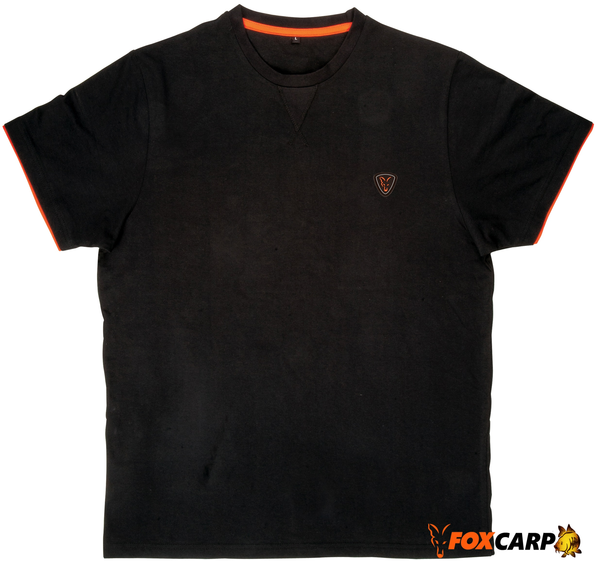 Fox футболка Black Orange Brushed Cotton