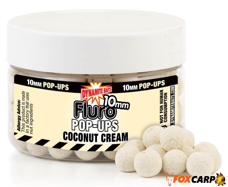 Dynamite Baits Coconut Cream Fluro Pop-Up
