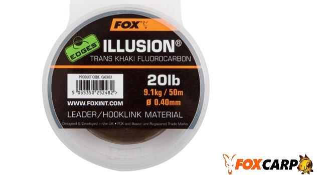 FOX Поводочный материал флюрокарбоновый Edges Illusion Hooklink