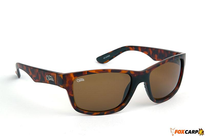 Fox Chunk™ Tortoise Frame/Brown Lens Sunglasses