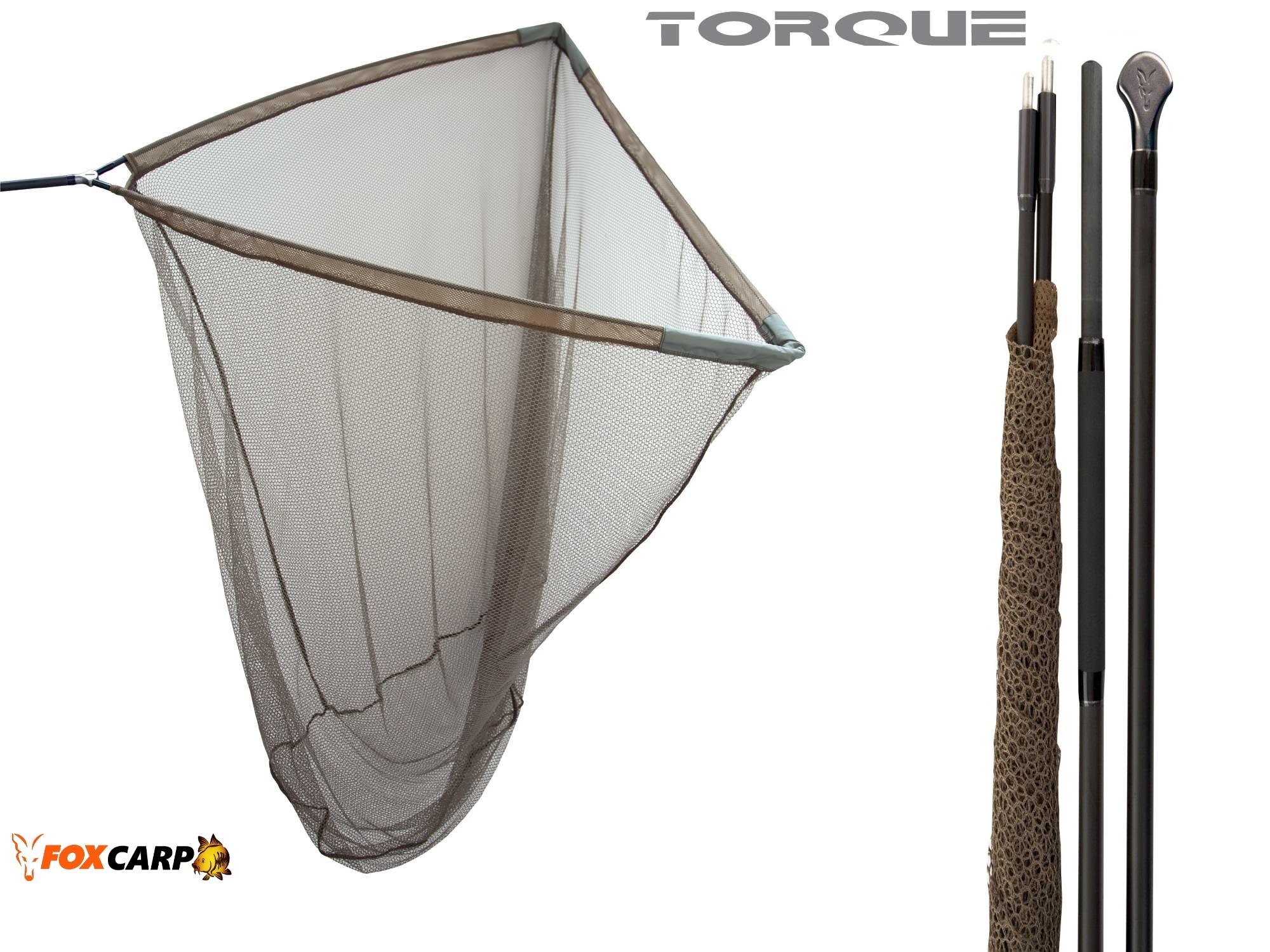 z FOX подсак c двусоставной рукояткой Torque 42 дюйма