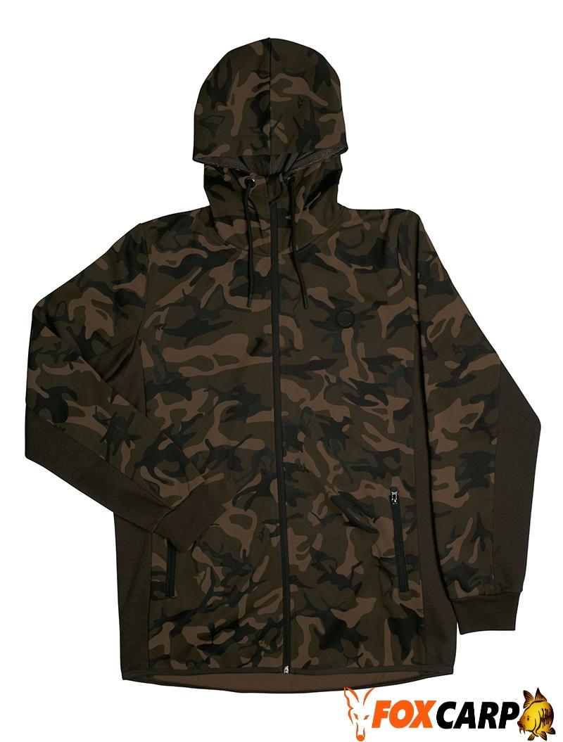 FOX Chunk Dark / Camo Khaki track hoodie(Толстовка)