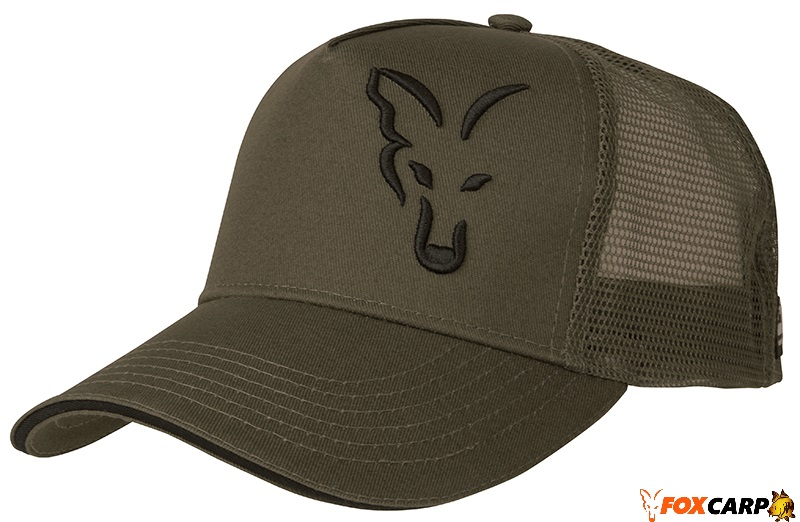 Fox Green & Black Trucker Cap