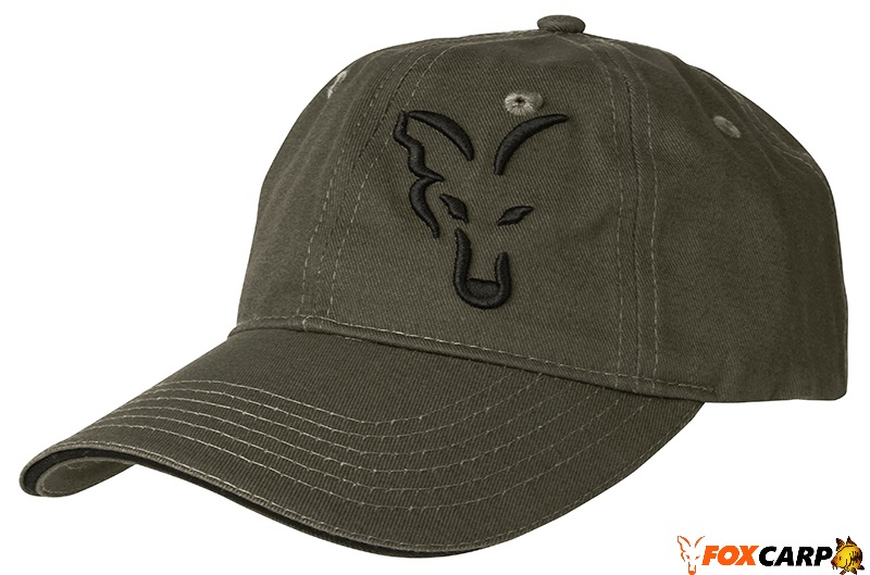 Fox Green & Black Baseball Cap