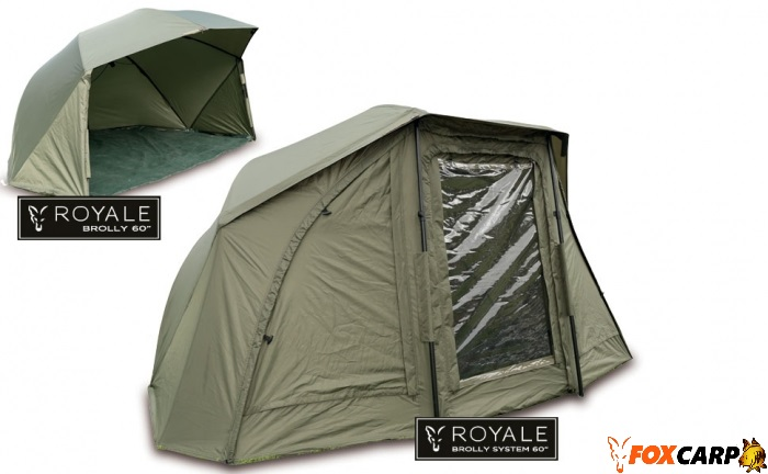 Fox Шелтер с полом — Royale 60 Brolly System