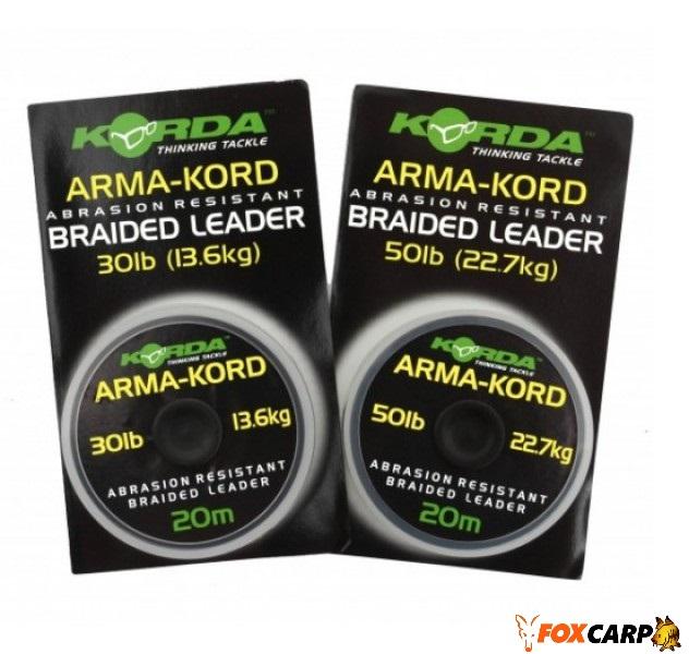 Korda Поводочный материал Arma-Kord Braided Leader