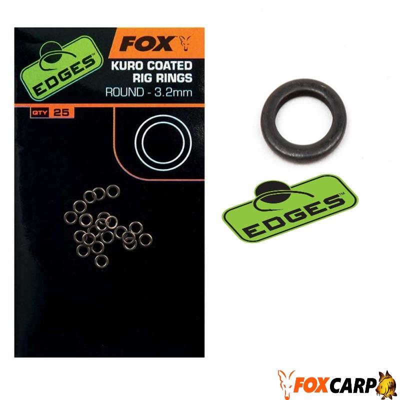 Fox Kuro Coated Rig Rings