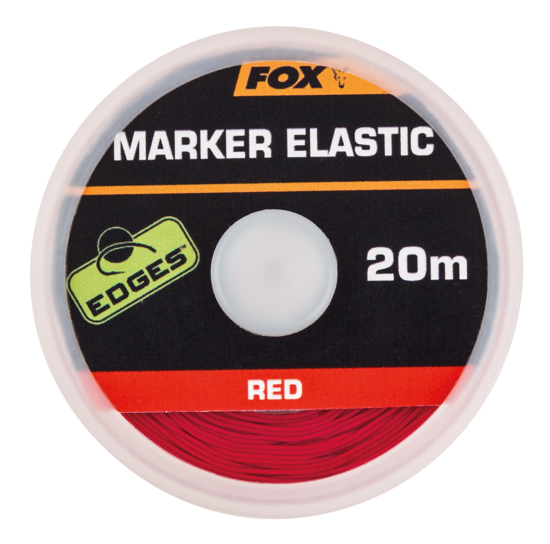 Fox Эластичная маркерная резина красная — EDGES Marker Elastic, 20 м.