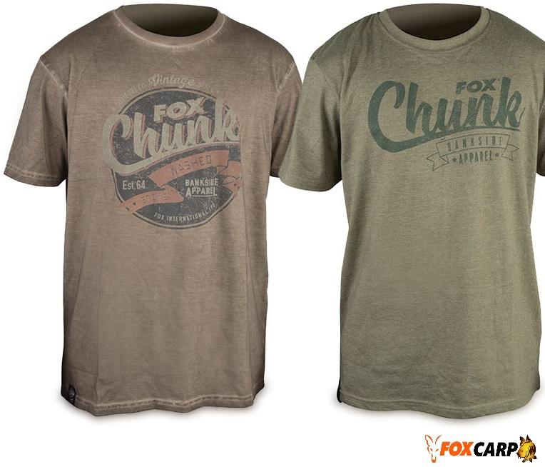 FOX CHUNK™ Stonewash T-Shirt