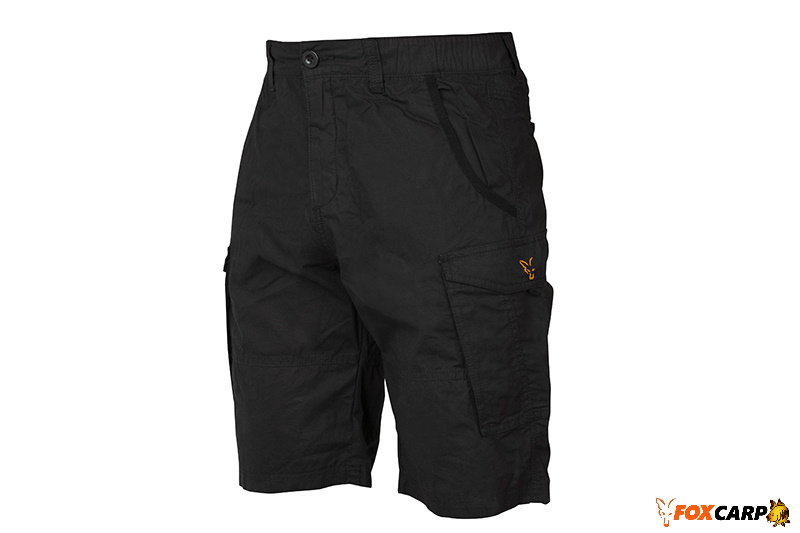 Fox Collection Сombats Shorts Black Orange