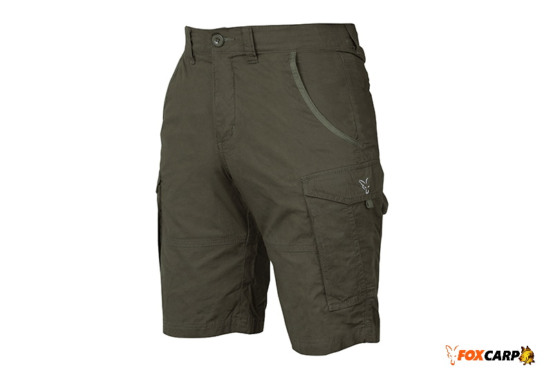 Fox Collection Сombats Shorts Green Silve (Шорты)