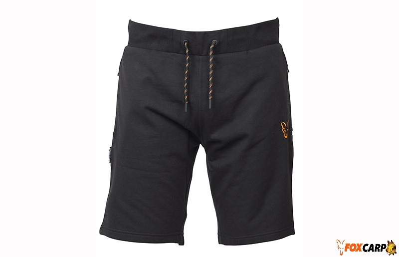 Fox Collection Orange & Black Lightweight Joggers Short
