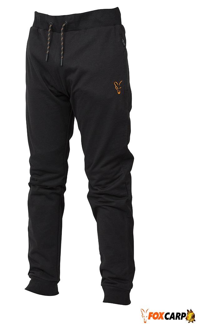 Fox Collection Orange & Black Lightweight Joggers