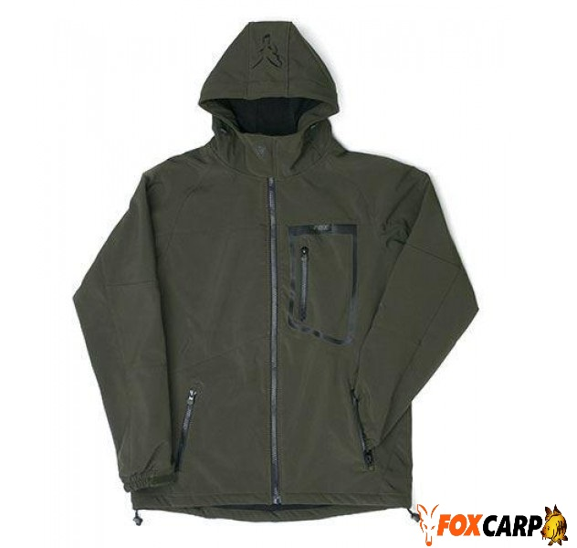 Fox Куртка Green Black Softshell Jacket
