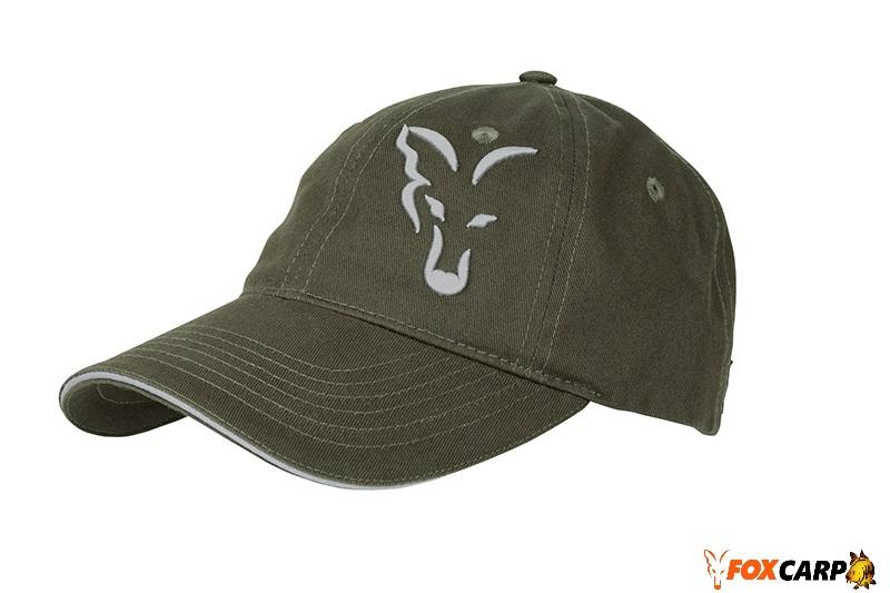 FOX Green/Silver Trucker Baseball Cap