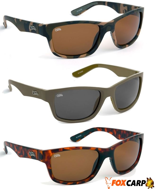z FOX (очки камуфляжные) CHUNK™ CAMO FRAME/BROWN LENS SUNGLASSES