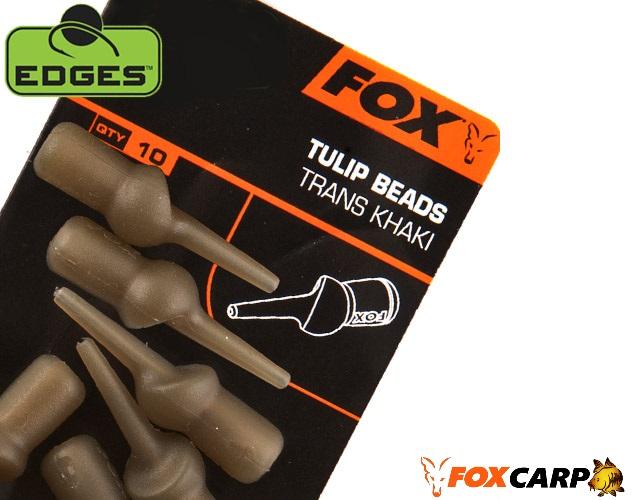 Fox клипсы для скользящих оснасток EDGES™ TULIP BEADS