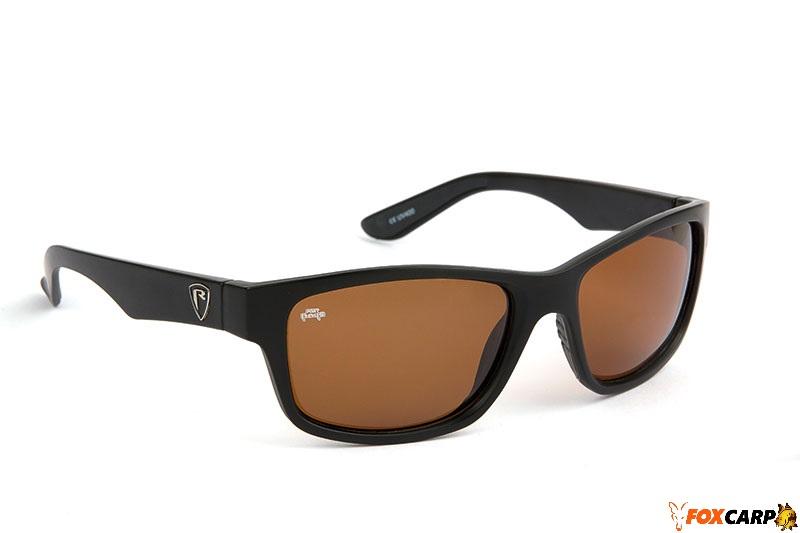 Fox Rage Eyewear Matt Black / Brown Lens