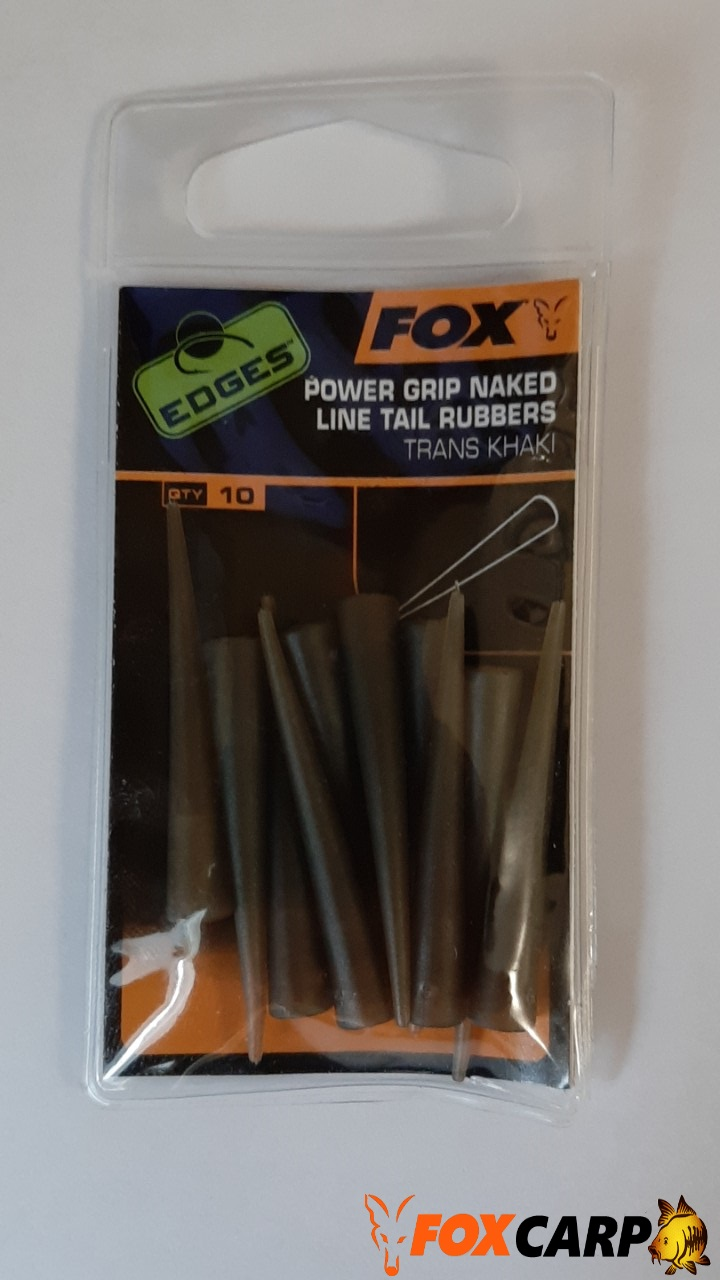FOX EDGES™ Naked Line Tail Rubbers — Tail Rubbers