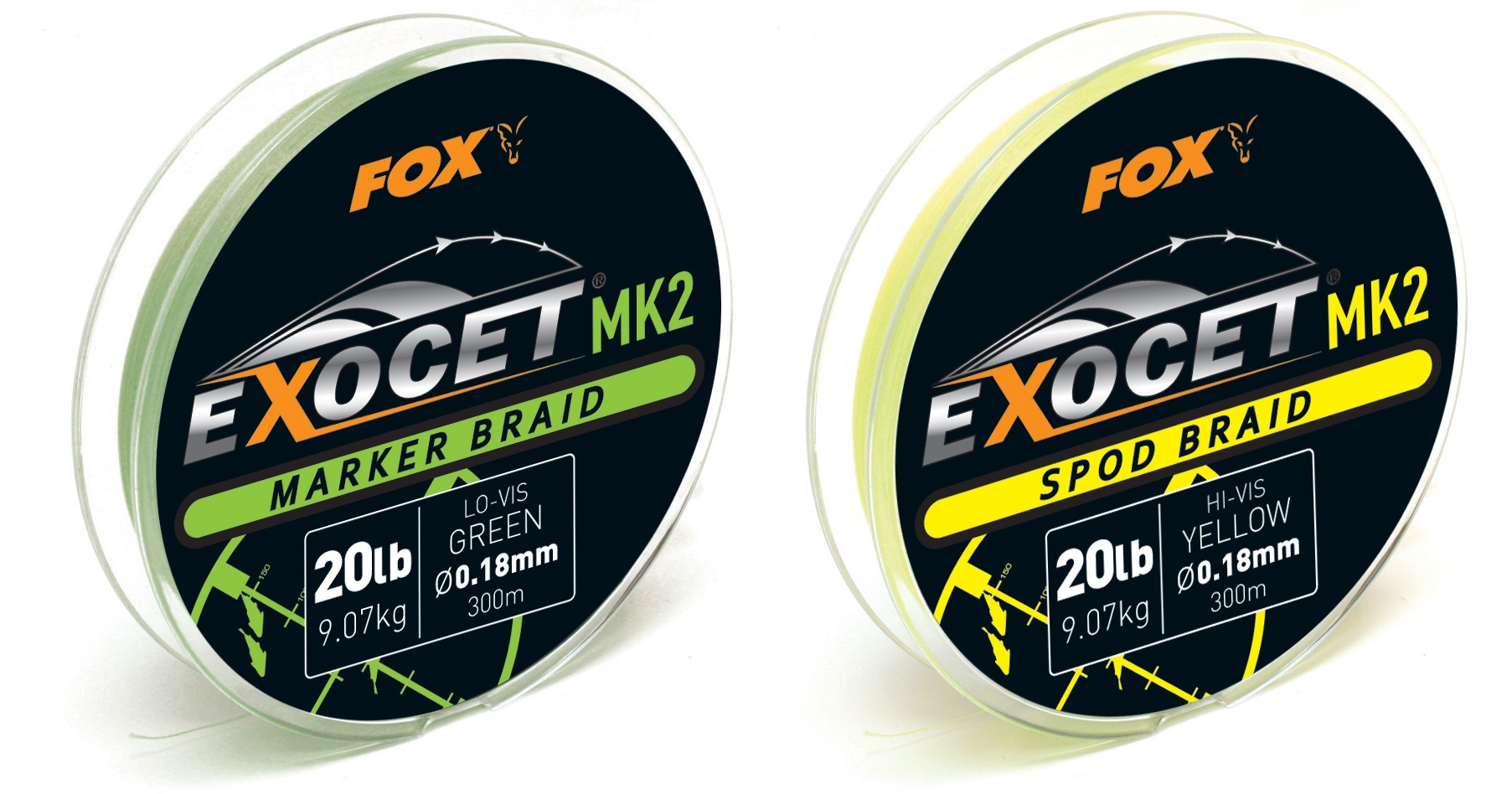 Fox Шнур  Exocet MK2 SPOD & MARKER BRAID